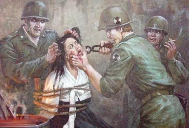 朝鲜油画欣赏图片