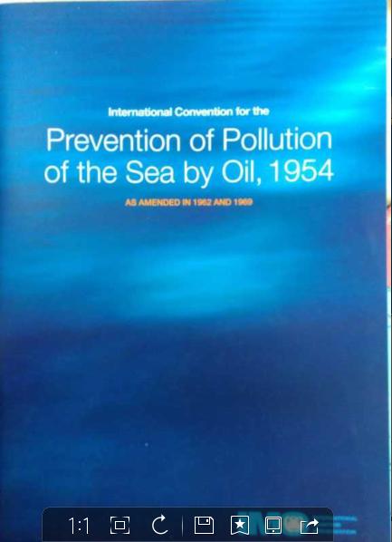1954年防止海上油污公约